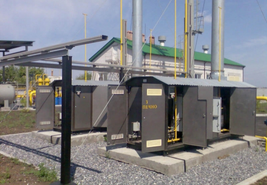 Подогреватели природного газа серии